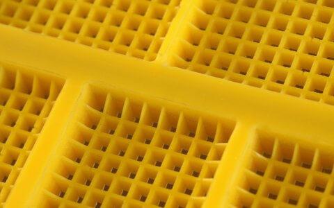 Полиуретановые модульные сита - квадратные ячейки