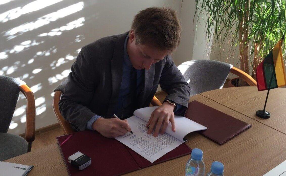 Podpisanie umowy pomiędzy Progress Eco iMilsą.
