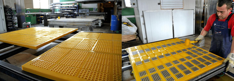 Produkcja sit poliuretanowych
