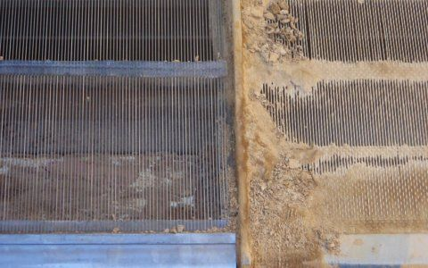 Piano screens for sand screening