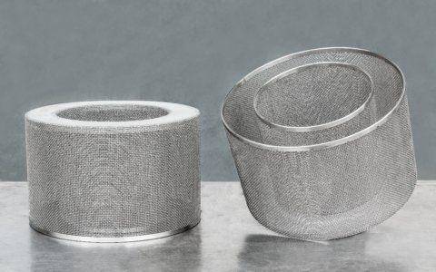 Cylindry filtracyjne z sitem plecionym