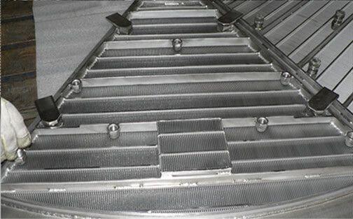 Щелевые сита Pro-SLOT для фильтрационных чанов