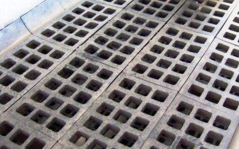 Rubber screens - square mesh