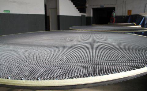 Wkłady filtracyjne na bazie sit plecionych