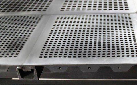 Rubber screens - square modules